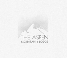 The Aspen Mountain and Lodge Logo