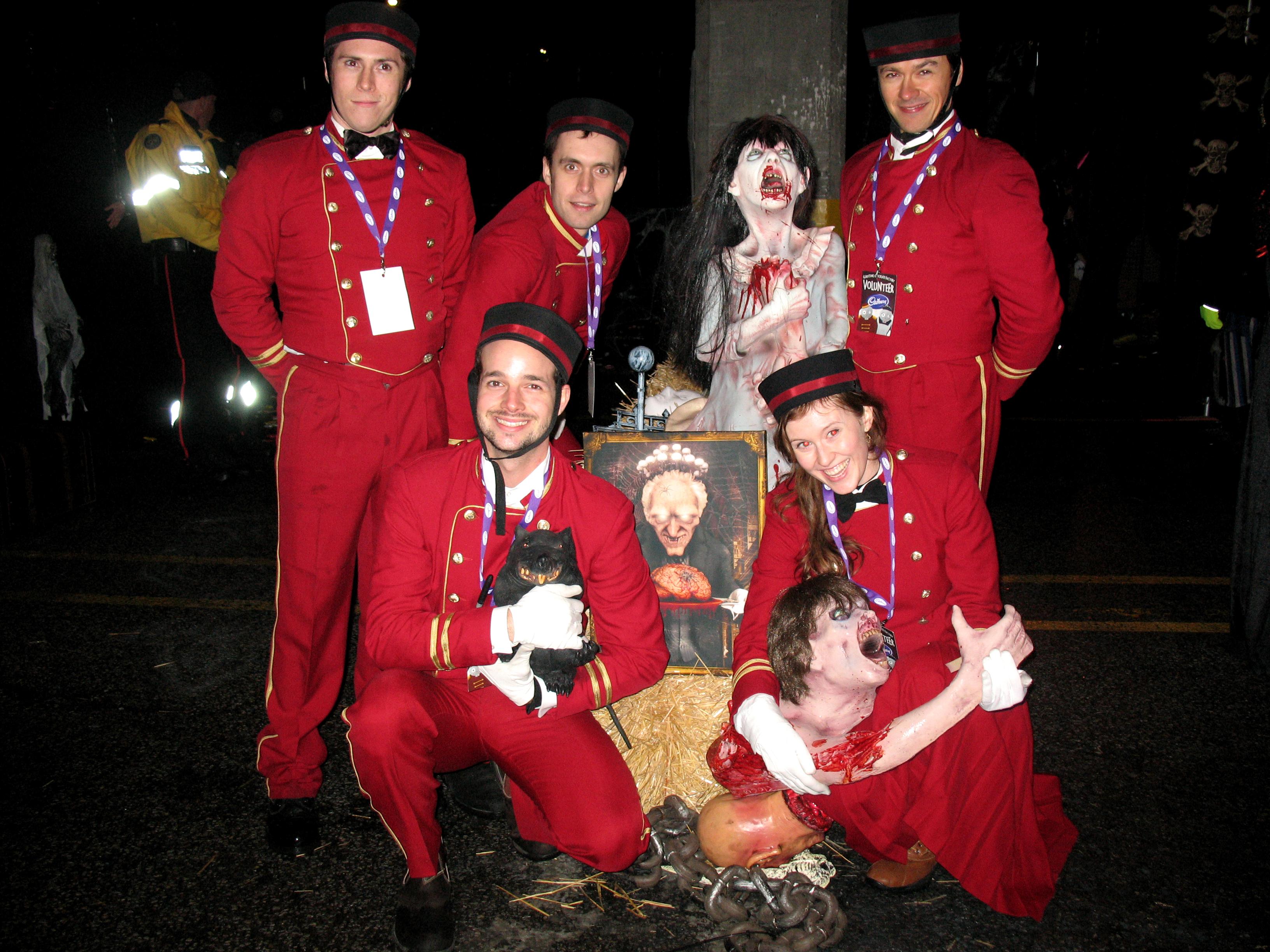 The Cadbury hotel crew